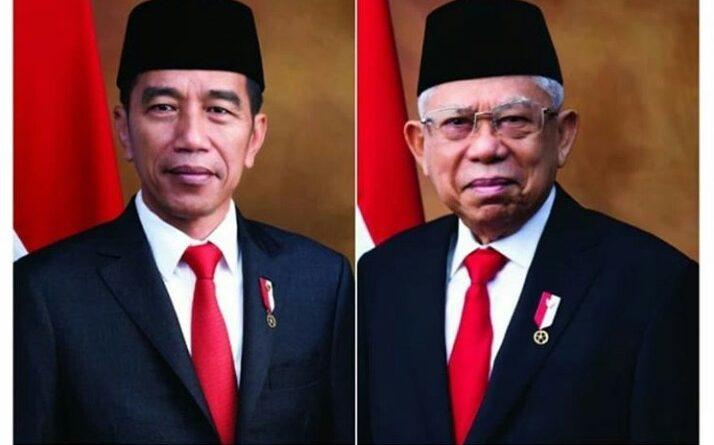 Presiden RI Jokowi-Maruf Amin Wapres RI 2019-2024