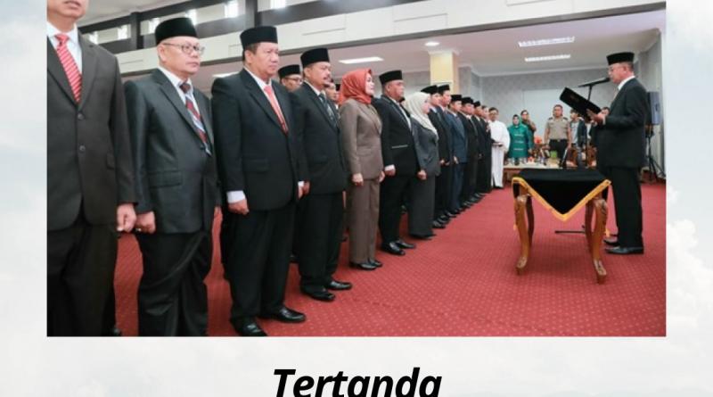 Dirut RSUD Kota Tanjungpinang Mengucapkan Selamat Atas Pelantikan Sekda Kota Tanjungpinang