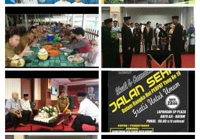 Galeri Kegiatan Gubernur Kepri Drs H Isdianto MM