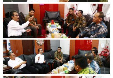 Ketua DPRD Kepri Jumaga Nadeak, S.H, menerima Audensi manajemen PT. Pelindo I (Persero) cabang Tanjungpinang