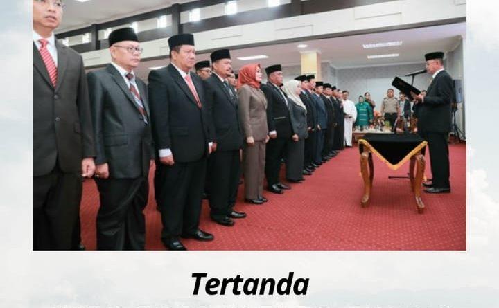 Kadis PU PR Kota Tanjungpinang Mengucapkan Selamat & Sukses Atas Pelantikan Sekda Kota Tanjungpinang