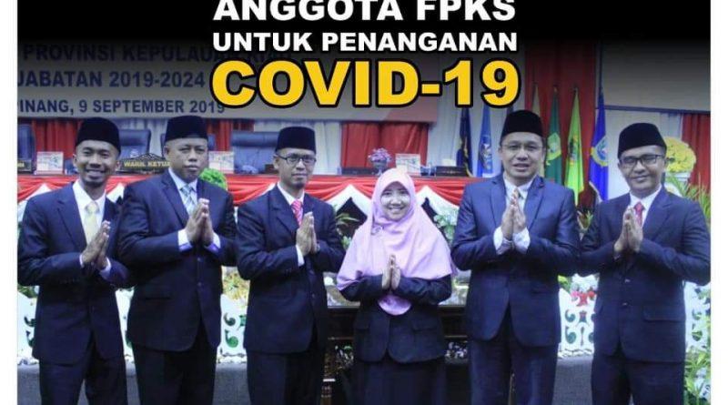 Aleg PKS DPRD Kepri Mulai Membagikan Sembako