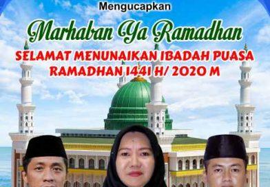 Pimpinan dan Anggota DPRD Kabupaten Kepulauan Anambas Mengucapkan Marhaban Ya Ramadhan