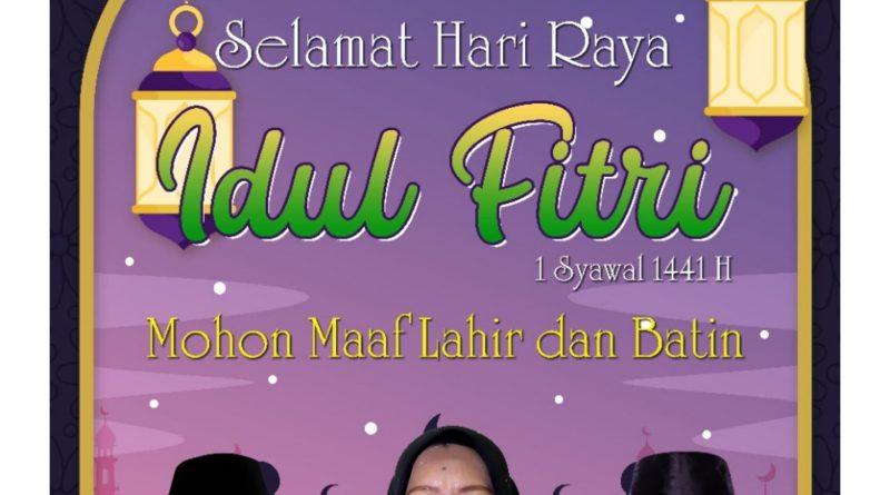 Pimpinan dan Anggota DPRD Kabupaten Kepulauan Anambas mengucapkan selamat hari raya idul Fitri 1 Syawal 1441 H