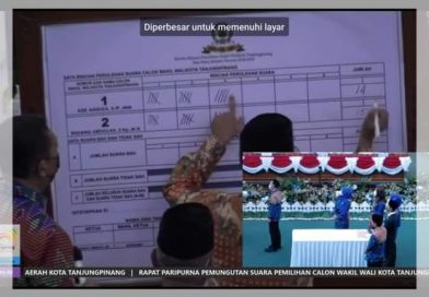 Endang Abdullah Menang ,Jadi Wawako Tanjungpinang